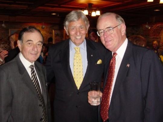 Spring 2005: Ambassadors Chic Hecht , Henry L. Kimelman and Charles T. Manatt