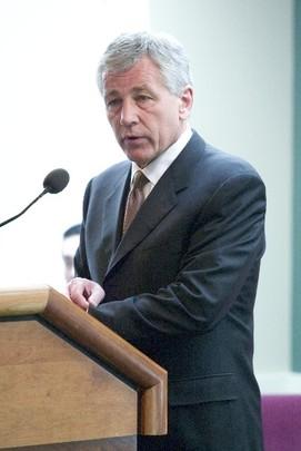 Spring 2005: Senator Chuck Hagel