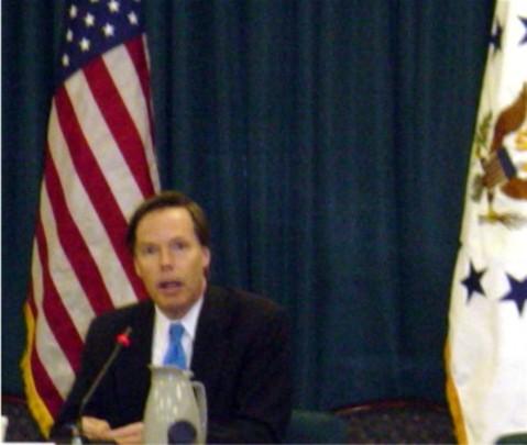Spring 2005: Under Secretary of State R. Nicholas Burns