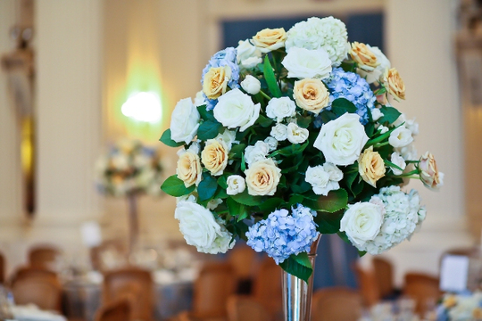 30th Anniversary Gala: Floral Centerpieces by Jack Lucky Floral Designs. Photo credit Tony Powell