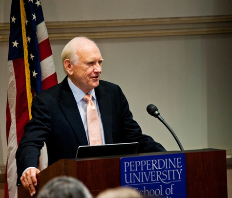 Dr. James R. Wilburn, Dean of Pepperdine University's School of Public Policy