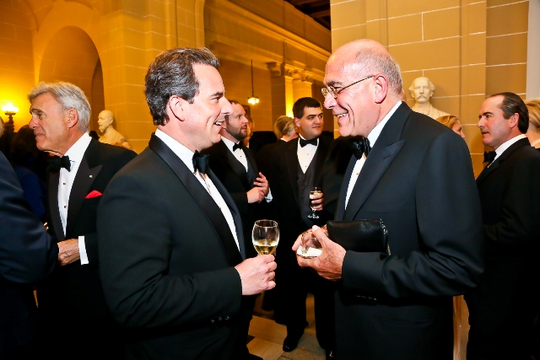 30th Anniversary Gala: Ambassadors Stuart W. Holliday and Yousif B. Ghafari. Photo credit Tony Powell