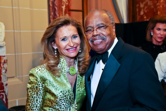 30th Anniversary Gala: Marine McHenry and Ambassador Donald F. McHenry. Photo credit Tony Powell