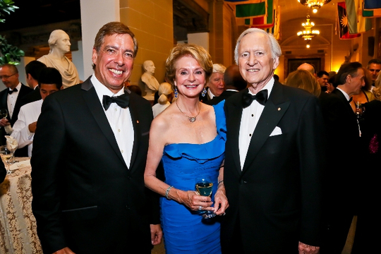 30th Anniversary Gala: Ambassadors Marc C. Ginsberg, Penne Korth Peacock and Andrew Peacock. Photo credit Tony Powell