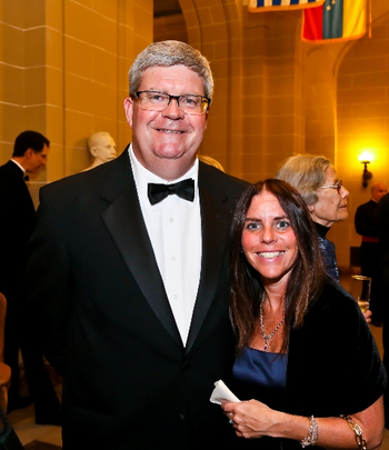 30th Anniversary Gala: Leo Dierckman and Kimberly Breslauer of Oppenheimer and Company. Photo credit Tony Powell