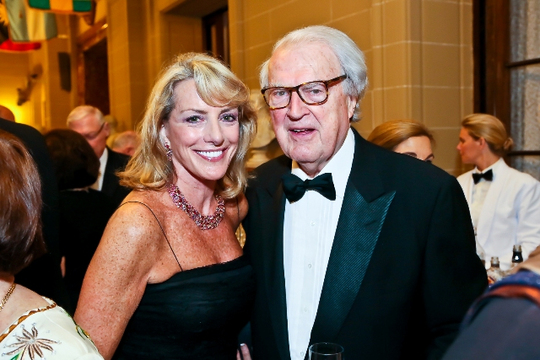 30th Anniversary Gala: Ambassadors Elizabeth F. Bagley and William J. vanden Heuvel. Photo credit Tony Powell