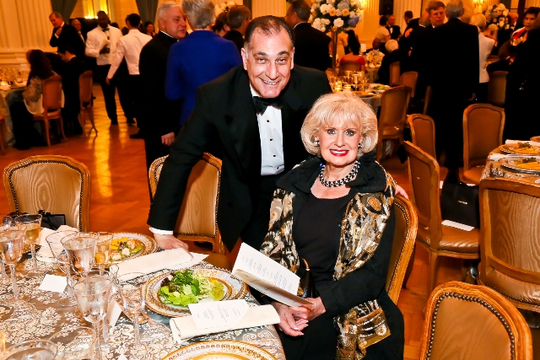 30th Anniversary Gala: Ambassadors Edward M. Gabriel and Jeanette W. Hyde. Photo credit Tony Powell