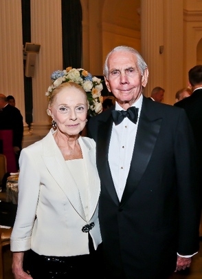 30th Anniversary Gala: Vera Blinken and Ambassador Donald Blinken. Photo credit Tony Powell