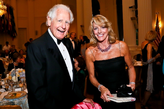 30th Anniversary Gala: Ambassadors Glen A. Holden and Elizabeth F. Bagley. Photo credit Tony Powell