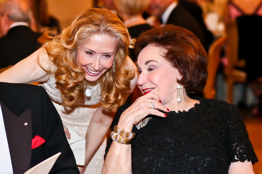 30th Anniversary Gala: Sharon Handler Loeb and Alma Gildenhorn. Photo credit Tony Powell