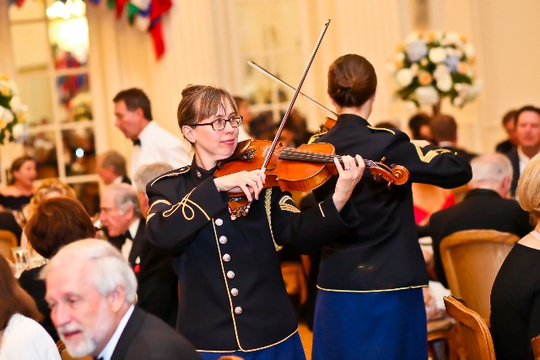 30th Anniversary Gala: Strolling Strings. Photo credit Tony Powell