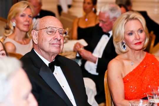 30th Anniversary Gala: Ambassadors Thomas R. Pickering and Mary M. Ourisman. Photo credit Tony Powell