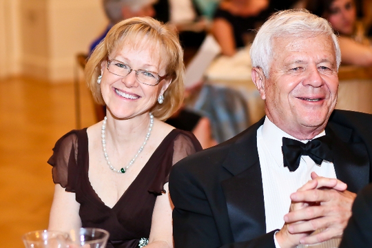 30th Anniversary Gala: Ambassadors Aldona Z. Wos and James B. Culbertson. Photo credit Tony Powell
