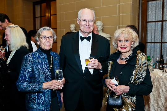 30th Anniversary Gala: Ann Harrop, Ambassador William Harrop and Ambassador Jeanette W. Hyde. Photo credit Tony Powell