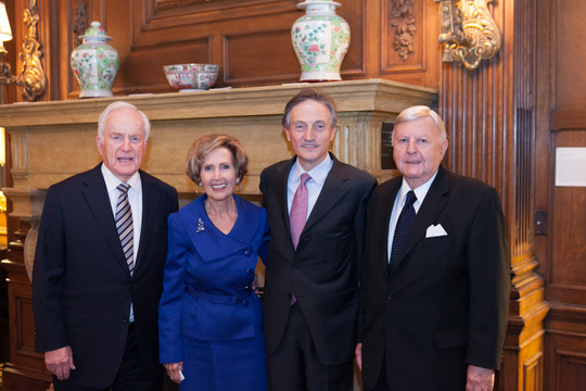 Ambassador Lloyd Hand, The Honorable Connie Morella, H.E. Claudio Bisogniero, Ambassador Gilbert Robinson