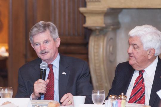 Ambassador Jim Nicholson, Ambassador Tom Korologos