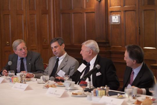 Ambassador Timothy L. Towell, Ambassador Paul A. Russo, Ambassador Gilbert A. Robinson, H.E. Claudio Bisogniero