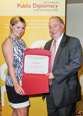 2013-2014 Davis Public Diplomacy Fellow Erin Rattazzi
