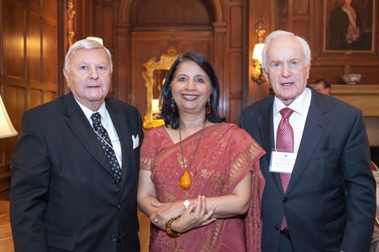 Ambassadors Robinson, Rao and Hand