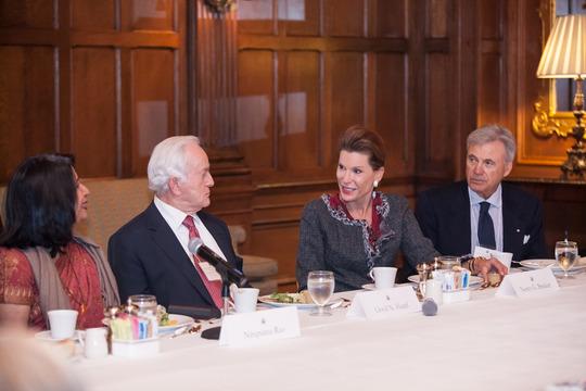 Ambassadors Rao, Hand, Brinker and Bernstein