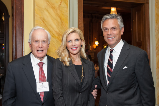 Ambassador Hand, Mrs. Huntsman and Ambassador Huntsman
