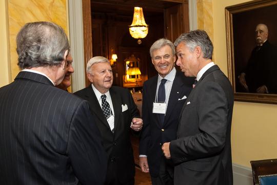 Ambassadors Robinson, Bernstein and Huntsman