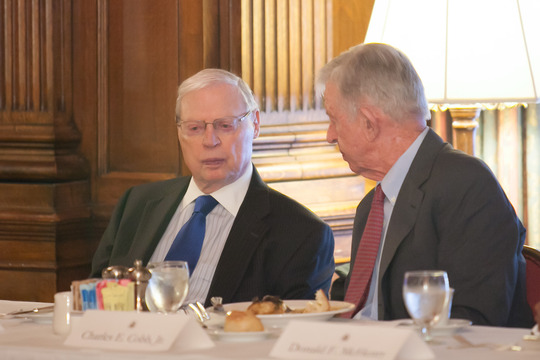 Ambassadors Gildenhorn and Cobb