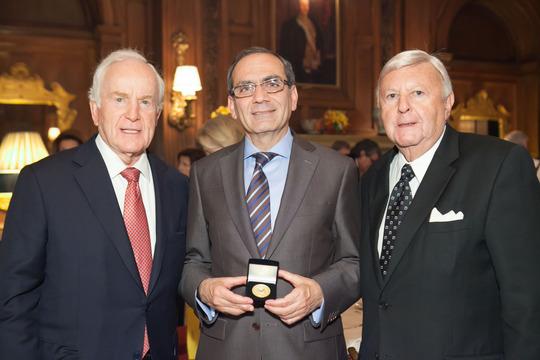 Ambassadors Hand, Tawfik and Robinson
