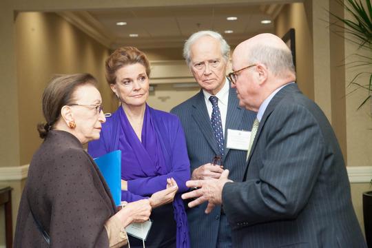 Ambassadors Roosevelt, Dougan, Gelb and Wisner
