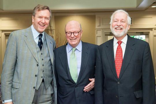 Ambassadors Hughes, Wisner and Chorba