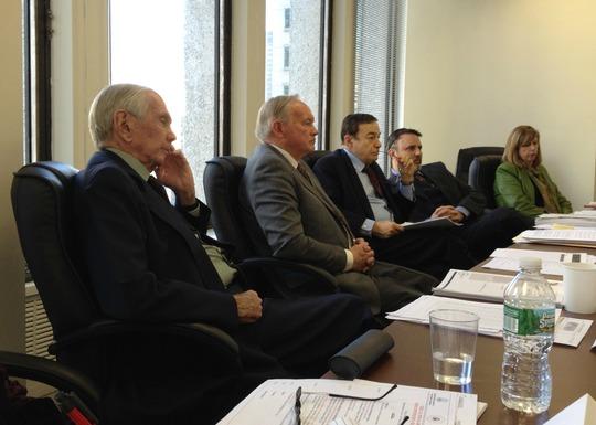 Ambassador Donald Blinken, Congressman George Hochbrueckner, Congressman Joseph DioGuardi, Mr. Peter Weichlein and Ms. Sabine Schleidt
