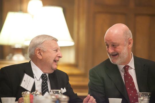 Ambassadors Robinson and Gil-Casares