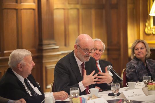 Ambassadors Robinson, Gil-Casares, Hand and Fulton