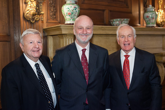 Ambassadors Robinson, Gil-Casares and Hand