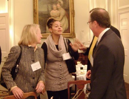 Ms. Andrea Metzger, Ms. Lia Miller, Ambassador G. Philip Hughes and Mr. Randell Bumgardner