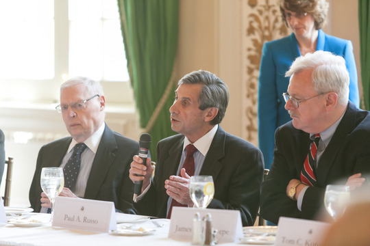 Ambassadors Gildenhorn, Russo and Rosapepe