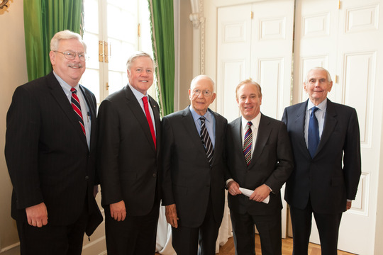 Ambassadors Rosapepe, Eacho, Gardner, Siebert and Blinken