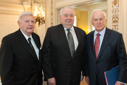 Ambassadors Robinson, Kislyak and Hand