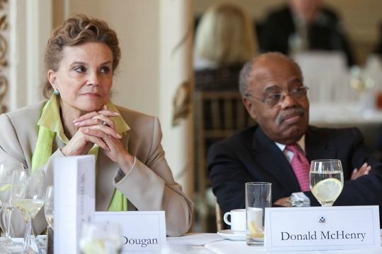 Ambassadors Dougan and McHenry