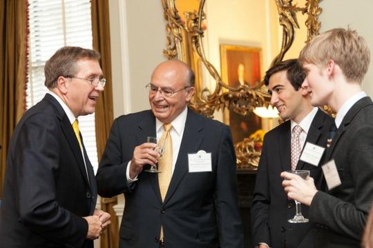 Ambassador Hughes, Ambassador Valdez, Dominic Watson and Chris Harper
