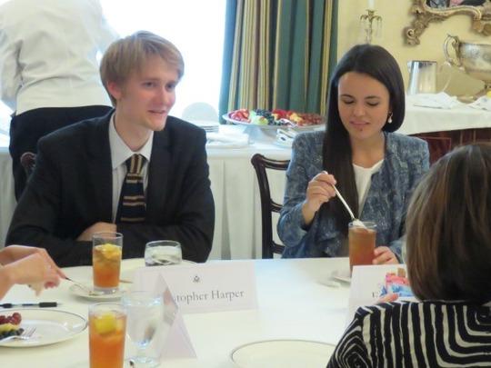 CAA Fellows Chris Harper and Francheska Loza