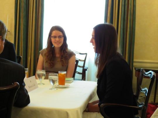 CAA Fellows Anna Boadwee and Rebecca Lullo