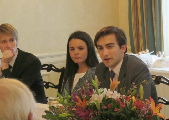 CAA Fellows Chris Harper, Francheska Loza and Dominic Watson