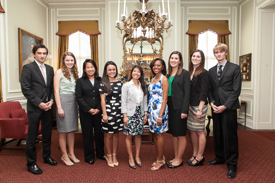 The 2014 Class of CAA International Affairs Fellows