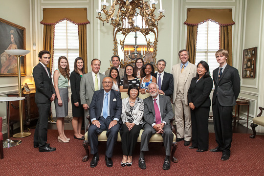 2014 CAA Fellows and their Ambassador-Mentors
