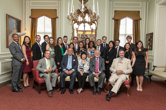 The 2014 Class of CAA International Affairs Fellows, Peer Mentors and Ambassador-Mentors