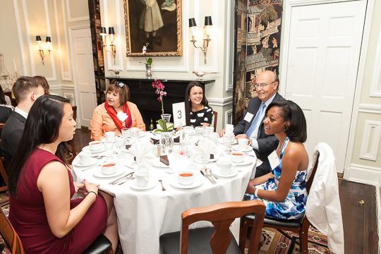 Sharon Sun, Cameron Combs, Ambassador Lomellin, Francheska Loza, Ambassador Valdez and Jasmine Wyatt