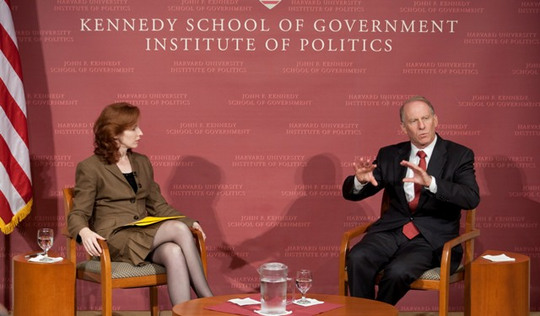 Dr. Meghan L. O'Sullivan and Dr. Richard N. Haass