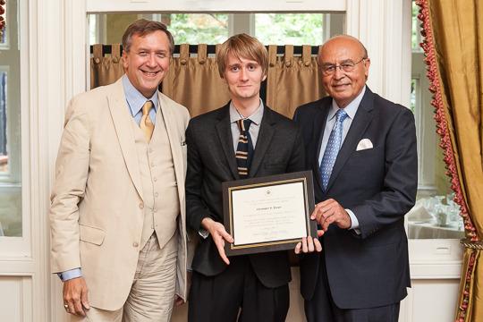Ambassador Hughes, Christopher Harper and Ambassador Valdez