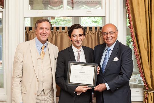 Ambassador Hughes, Dominic Watson and Ambassador Valdez